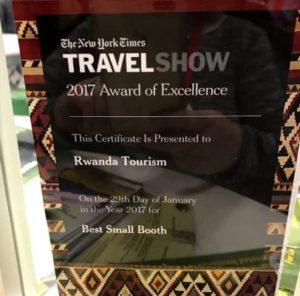 Rwanda at Newyork Times Travel show